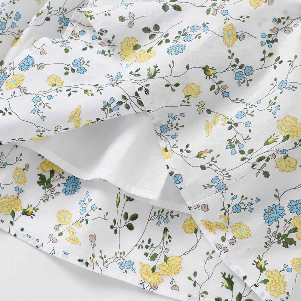 Balabala1-6Y Милая летняя одежда для маленьких девочек платье принцессы без рукавов с принтом Детские вечерние платья на день рождения