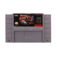 Nintendo sfc/snes cartucho de jogo de vídeo console cartão de street fighter ii o mundo guerreiro eua versão do idioma inglês