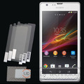 3pcs LCD Clear Screen Protector for Sony Xperia SP Protective Film Guard for Sony Xperia SP M35H C5302 C5303 #YD35