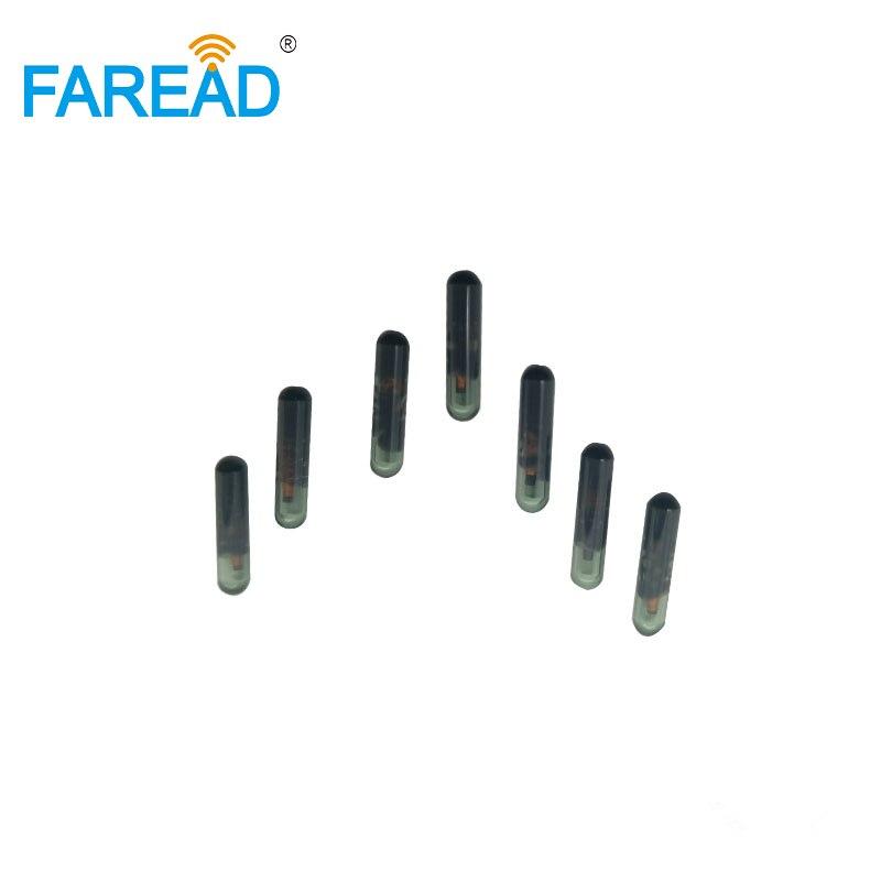 X40pcs  Vigo 3*13mm RFID Glass Tag HF Microchip ISO15693 13.56MHz