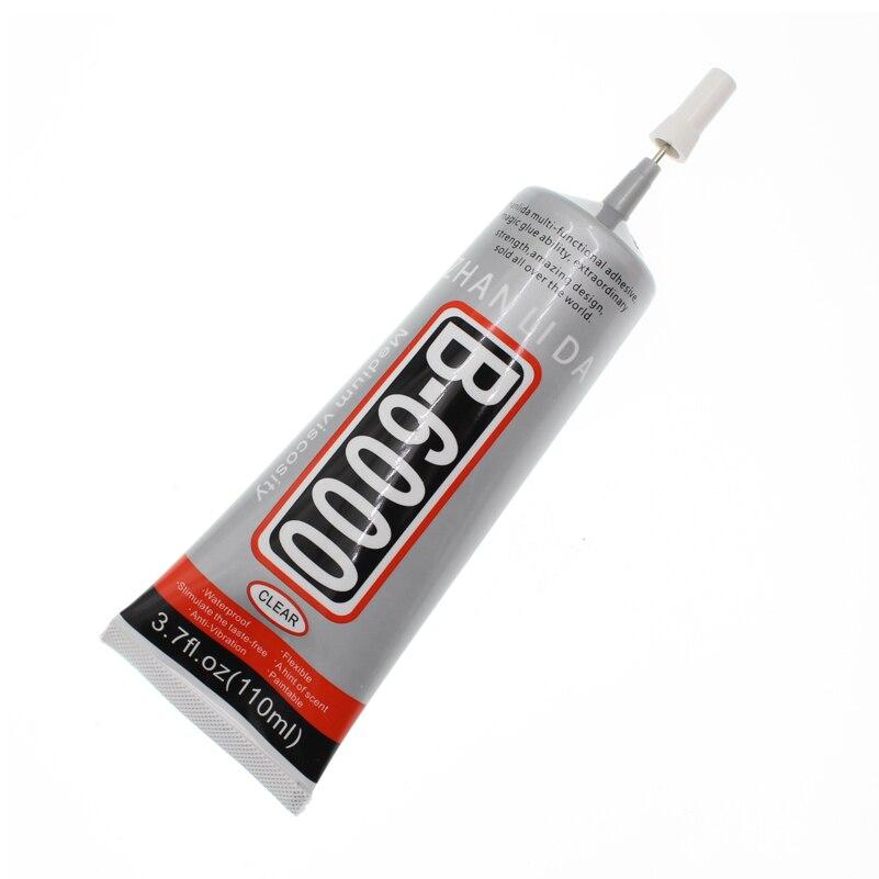 110ML Liquid Glue B-6000 Epoxy Resin Paper Fabric Zhanlida B6000 School DIY Stationery Store Scrapbooking Accessory Glue UV Bts цены онлайн