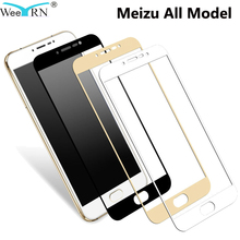 2.5D Full Cover Screen Protector Tempered Glass Meizu M5 Note M5C M5S M6 Note M6S Pro 6 7 Plus Glass Film Meizu 15 Glass все цены