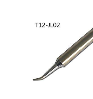 Gudhep T12 JL02 Soldering Iron Tips T12 Series Replacement Soldering Tips for FX950 FX951 Soldering Rework Station gudhep t12 soldering iron tips t12 c4 welding tips replacement tips for fx950 fx951 soldering rework station