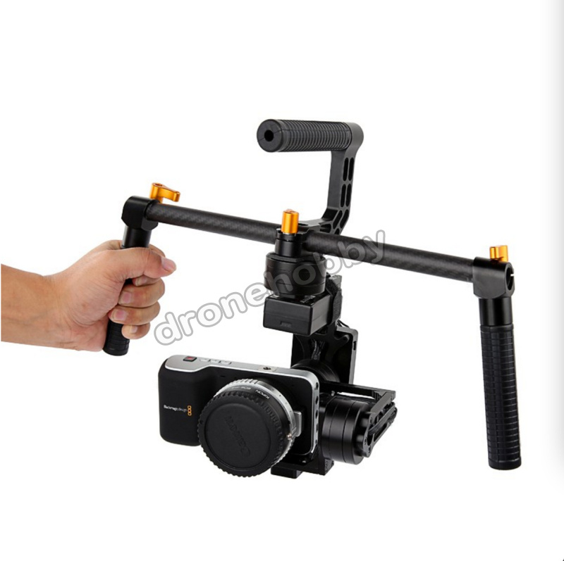 iFlight G40 3 Axis DLSR Aerial Gimbal for SONY 5N NEX5/7 RX-100 BMPCC Camera Handheld version gipfel чайник заварочный 1000 мл
