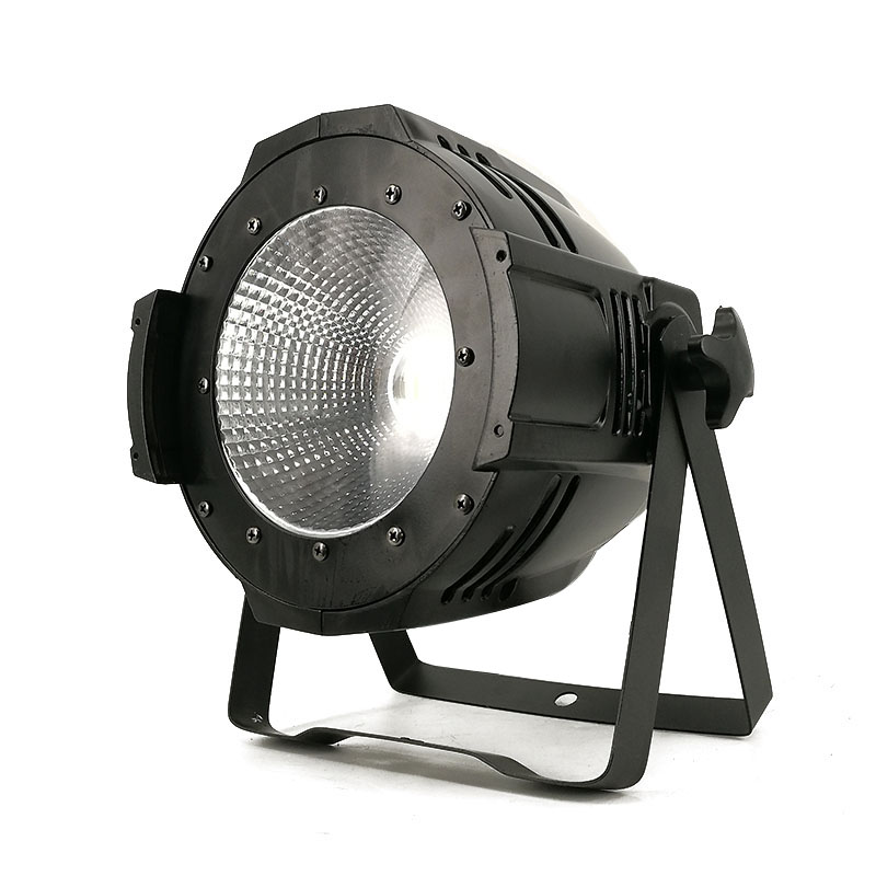 2pcs Led COB Blinder 100W Can Par Light RGBWA+UV With DMX 512 Controller Professional Stage Lighting for Quiet Theater Show Club rasha brand 2 100w 2in1 cob ww cw led blinder light stage audience studio blinder light theater light