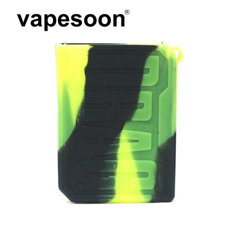 Colorful Protective Covers Sleeve Skin Silicone Case For Voopoo DRAG Nano Pod Kit Vape Pod E-Cigarette