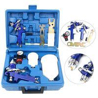 Professional 1.4&0.8mm HVLP Gravity Feed Professional Cars Sprayer Airbrush Pneumatic Guns 600&250ml Cup SET