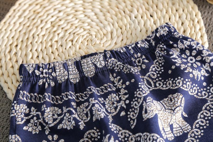 ISHOWTIENDA print Vest sleeveless girl Top+Pant Beach national toddler girl summer clothing kinder kleding girl set girls outfit