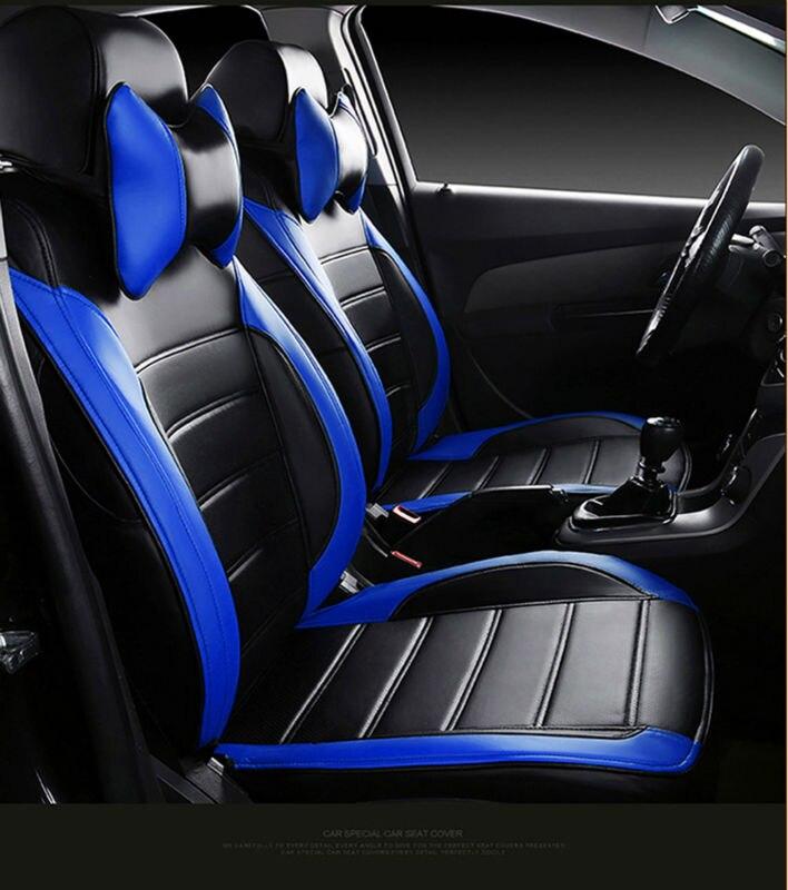 automobile seat covers pu leather cushion set car original for Agila Vectra Zafira Astra GTC PAGANI ZONDA SAAB Spyker RAM HUMMER