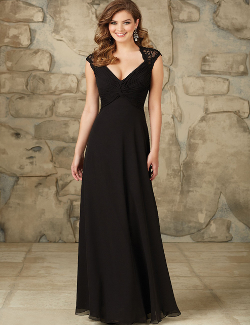 Vestidos Elegantes De Noche Negros Vestidos De Boda