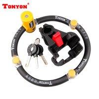 TONYON In section four of mountain bike folding bicycle lock lock anti hydraulic shear TY3869 200