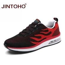 JINTOHO/Мужская обувь большого размера; летние дышащие мужские кроссовки; недорогая Мужская Спортивная обувь для бега; уличная Мужская обувь для тренировок; мужские кроссовки