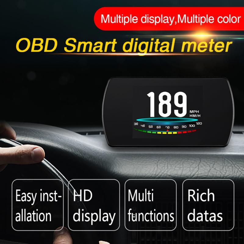 Multifunctional P12 Automobile Board Computer Projector Car Digital GPS OBD Driving Displayer Car Head Up Display цены онлайн