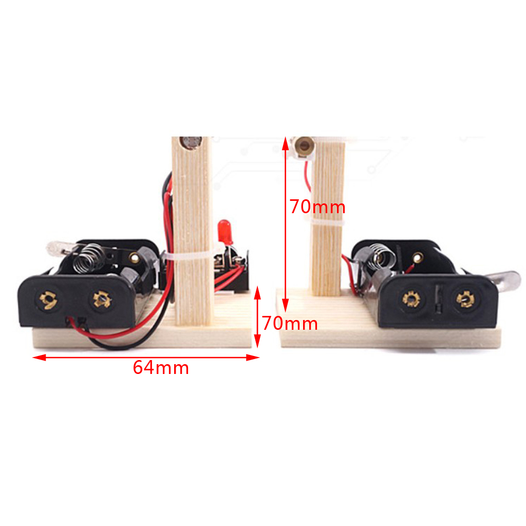 DIY Infrared Guard Against Theft Alarm Module Science Experiment Kit