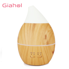 300ml Air Aroma Humidifier USB Aromaterapy Essential Oil Diffuser Wood Grain 7 colour LED Night Light Cool Mist Maker For Home usb 300ml humidifier purifier wood grain led aroma essential oil diffuser mist maker led night light for office home 7 color led