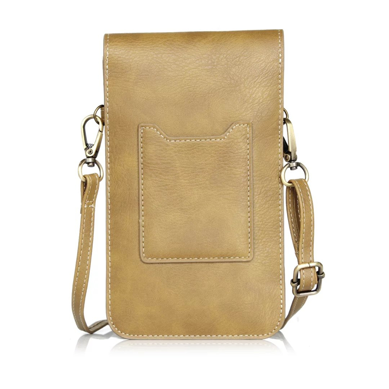 Causal Elephant Texture Leather Fanny Bags for 6.3 Inch Phone Retro Card Hold Vertical Waist Case Pouch Free Shipping