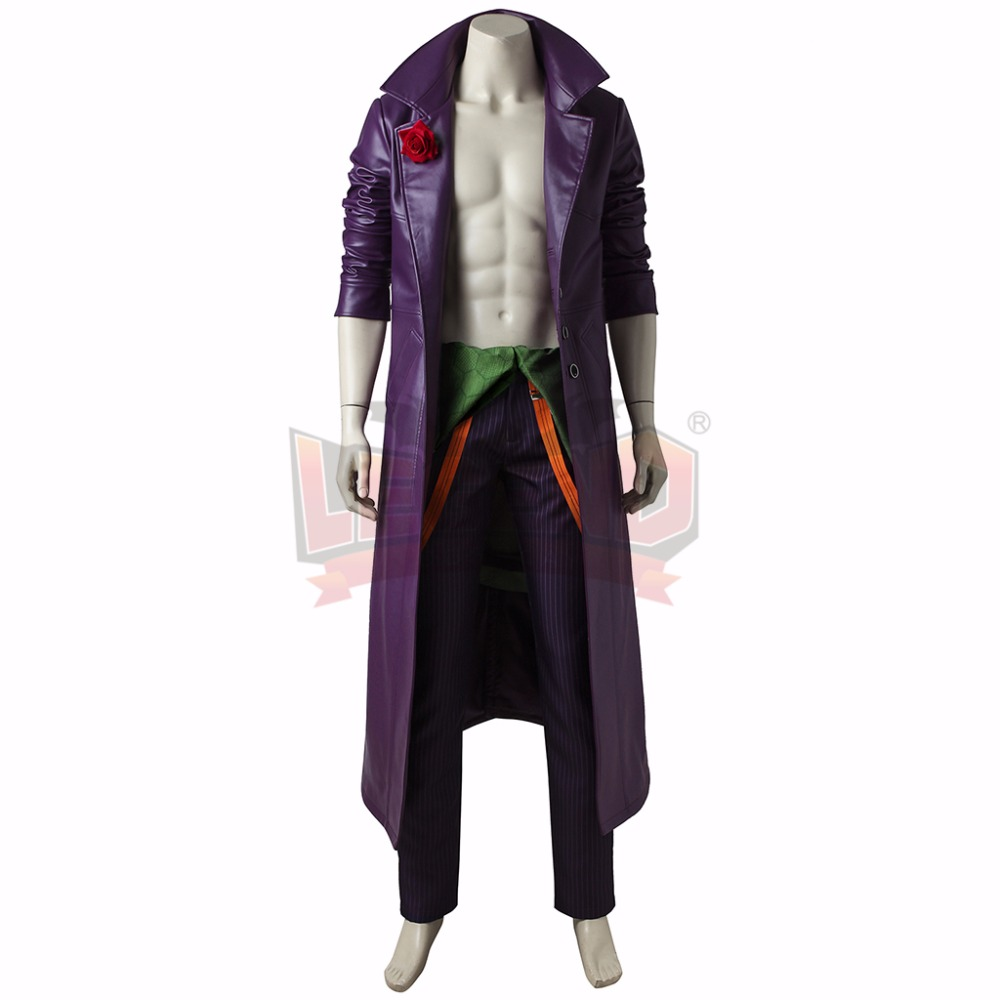 Injustice 2 joker Cosplay Costume Outfit Halloween Adult Costume Custom Made