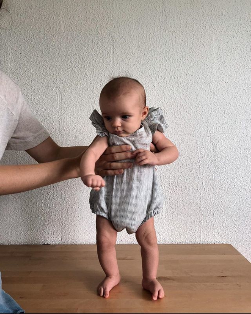 HTB1NzJXaynrK1Rjy1Xcq6yeDVXaK 2019 Brand New Newborn Infant Kids Baby Girl Boy Romper Petal Sleeveless Striped Cotton Jumpsuit Playsuit Summer Clothes 0-18M