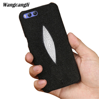wangcangli Custom pearl leather phone case For xiaomi MI 6 case pearl half pack mobile phone case mobilephone case