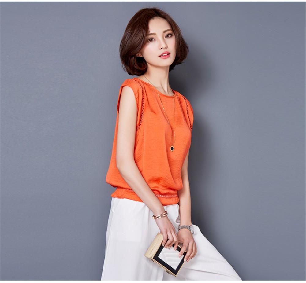 Big Size M-3XL Luxury Chiffon Tank Top For Women Summer Fashion Crop Tops Women\'s Sleeveless Tank Vest Tops Lady Sexy Camis (26)