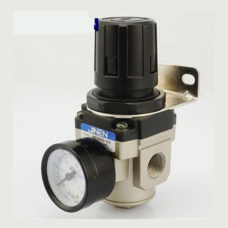 PT3/8 High Quality Air Gas Control Compressor Pressure Regulating Regulator Valve Controller Relief  Valve compressor air control pressure gauge relief regulating regulator valve with 6mm hose fittings