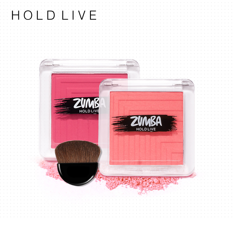 HOLD LIVE Natural Cheek Waterproof Pigment Blusher Powder Bronzer Contour Palette 5 Colo ...