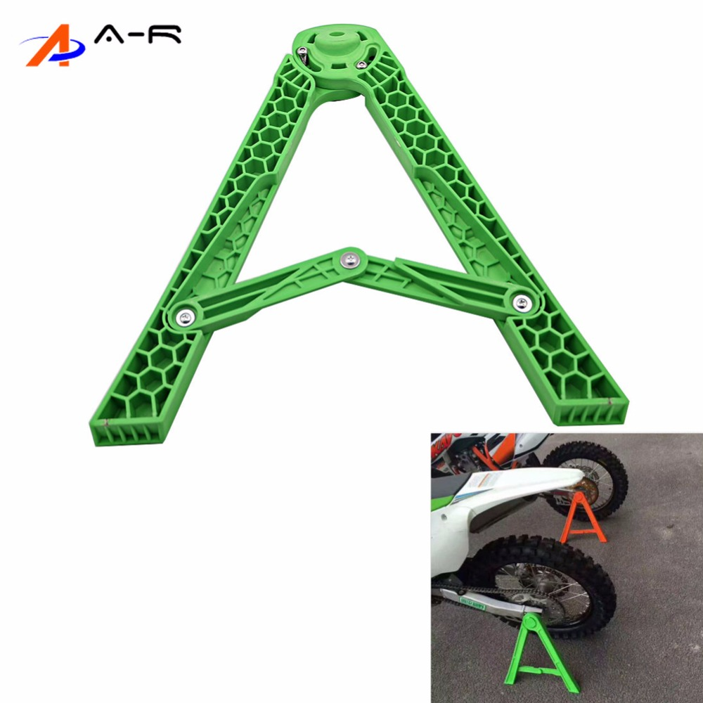 14mm 18mm Motocross Motorcycle Triangle Parking Kickstand