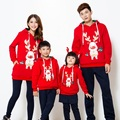 Family Set Christmas Hoodies Family Matching Casual Mother Daughter Father Son Clothes Family Clothing Parent-Child Set, CH12