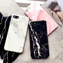 Чехол для iPhone 7 Мрамор узор силиконовые Телефонные Чехлы для iphone7 плюс 8 8 плюс 6 6S Fundas защиты сотового телефона наборы для ухода за кожей противоударный