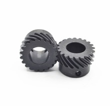2Pieces/Lot  Diameter:20.38mm hole:6mm 1M-13Teeth Helical Gear 45Degrees Oblique
