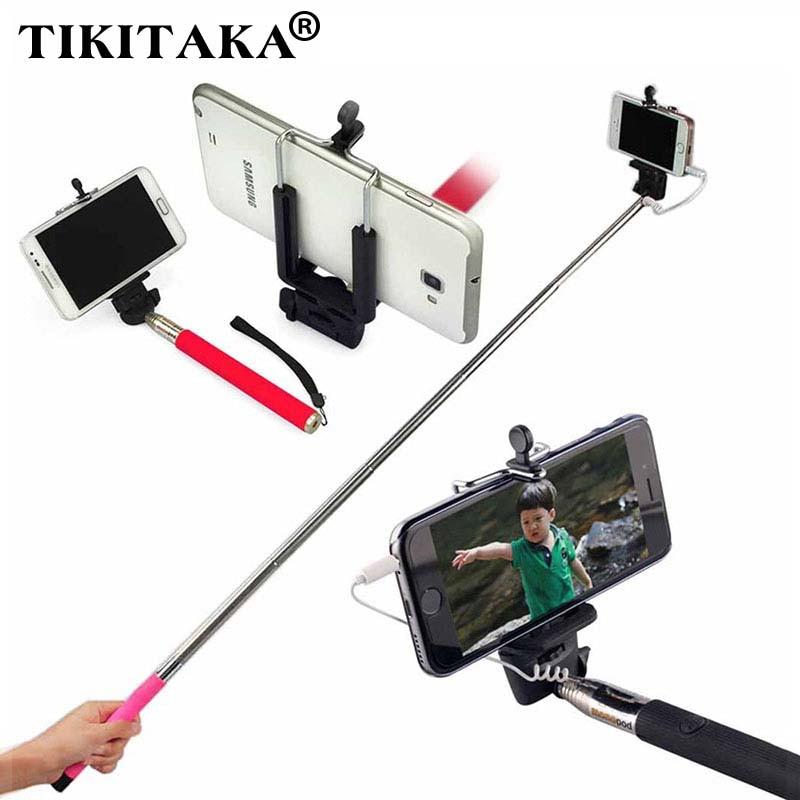 hot 22 100cm selfie stick portable and extendable stick monopod self artifact handheld for. Black Bedroom Furniture Sets. Home Design Ideas