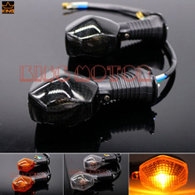 For SUZUKI GSX 650F 2009-2011 GSX 1250FA 2010-2013 Motorcycle Accessories Turn Signal Indicator Light Smoke