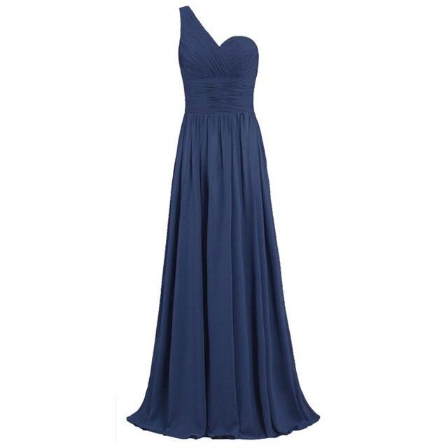 35046af62817e Online Shop ONGLYP Evening Party Dresses One Shoulder Padded Special ...