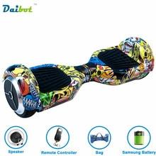 Frankreich Lager 6,5 zoll Hoverboard Elektrisches Skateboard Selbstausgleich Roller Smart balance Rad schwebebrett Fernbedienung