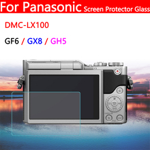 Camera LCD Display Protective Film for Panasonic GH5 GF6 GX8 DMC-LX100 Digital Screen Protector 2.5D 9H Tempered Glass