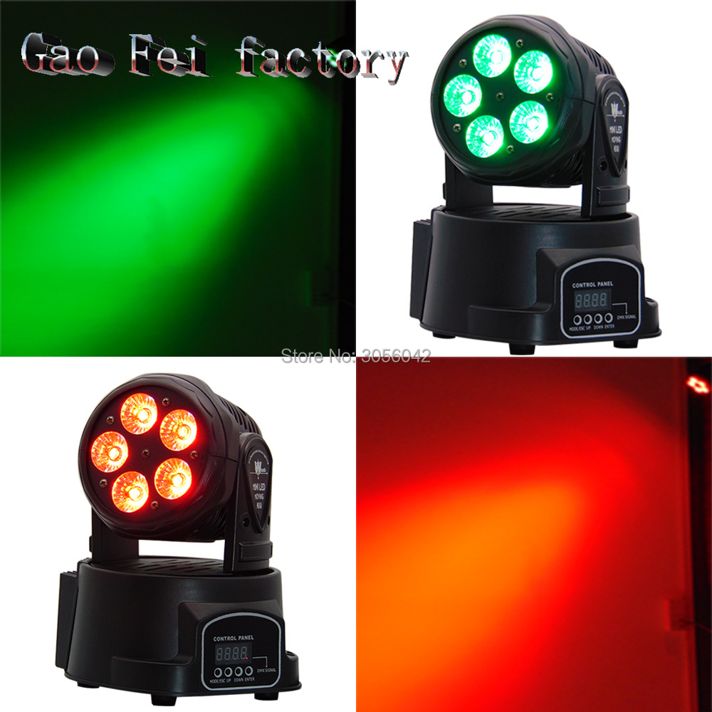 2Pcs/lot Led Moving Head Mini Wash 5x15w RGBWA+UV Party/Disco/Dj light DMX 10/15 Channels Stage Lighting Effect 2pcs lot mini led wash moving head 4x18w rgbwa uv dmx stage lights business high power with professional for party ktv disco dj