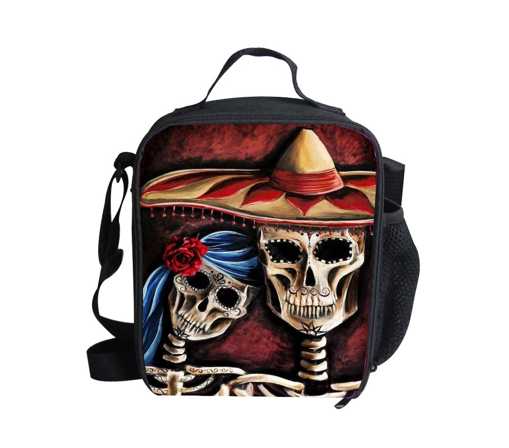 Aliexpress.com : Buy FORUDESIGNS Kids Designer Skull Lunch ...