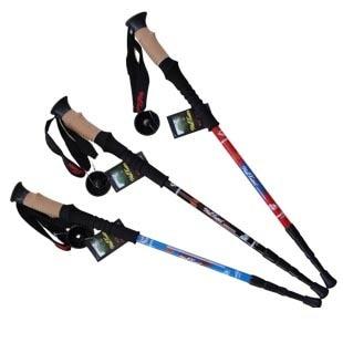 Straight shank hiking pole cork handle carbon steel tungsten steel ultra-light at343070 outdoor survival kit item