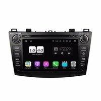 2GB RAM Quad Core 8 Android 8.1 Car Audio DVD Player for Mazda 3 2009 2012 With Car Radio GPS WIFI Bluetooth 16GB ROM USB DVR
