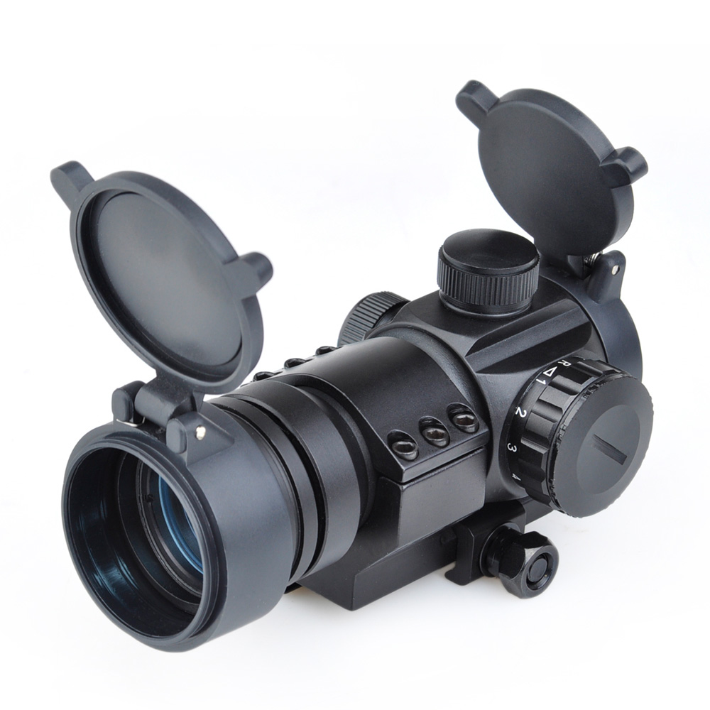 WIPSON Aim AT M3 optical sight Red Dot Hunting Scope Collimator Sight Rifle Reflex Shooting L Shaped Mount For Air gun wipson aim optical sight 2x42 red green dot rifle lights with 2x magnification weapon light for hunting collimating sight