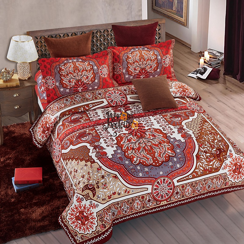 housse de couette indienne pcsensemble indien bohme mandala ensembles de literie literie costume. Black Bedroom Furniture Sets. Home Design Ideas
