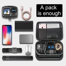 Portable Carry Case Small Large Size Accessory Storage Bag for DJI OSMO Action camera GoPro Go Pro Hero 5/6/7  Action Camera цена