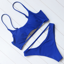 Brazilian Two Piece Push Up Padded Bathing Suit