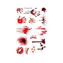 Halloween Zombie Scars Tattoos