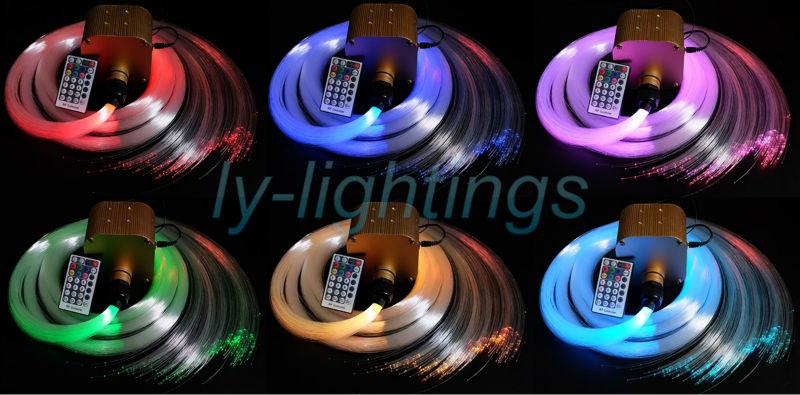 все цены на  Twinkle stars 16W fiber optic lights led light engine+ 300pcs optical fibers wireless remote dimmable twinkling starry sky ceil  онлайн