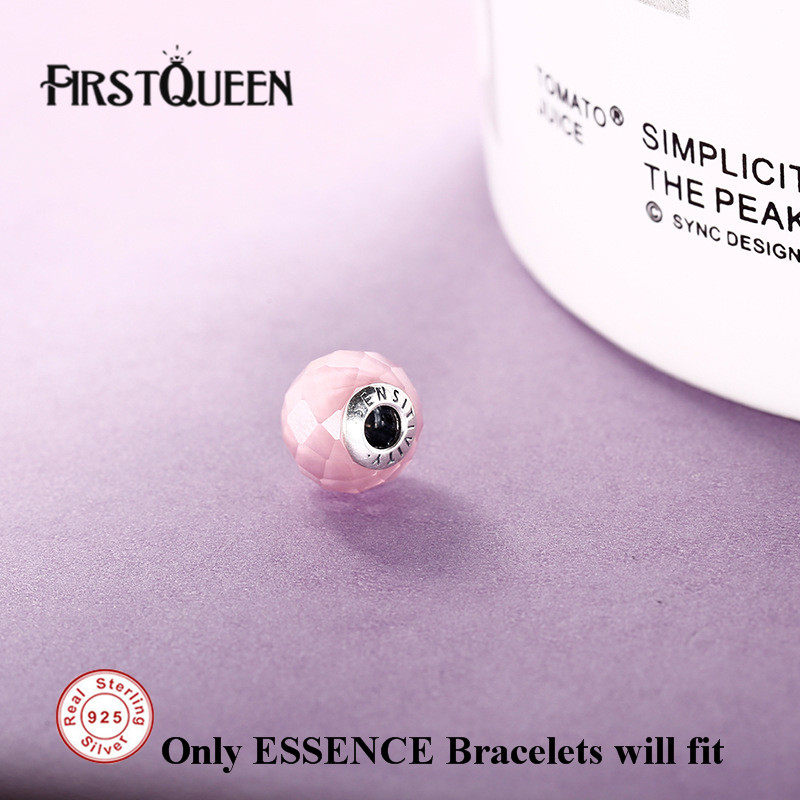 FirstQueen Solid 925 Silver Sensitivity Essence Bead Fit Brand Charms Silver 925 Original Essence For Jewery Making Fine Jewelry