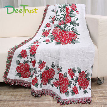 Bohemian Cotton Blanket Thickening Three Layers 130x180cm Three Layers Sofa Throws On Sofa/Bed/Plane Cover Cobertor Home Decor