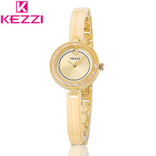 KEZZI KW1203 Luxury Brand Women Gold Bracelet Wristwatch Ladies Clock Fashion Quartz Watch Relogio Feminino KZ88