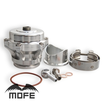 SPECIAL OFFER Aluminum Q Series 50mm Turbo Blow Off With 10 PSI Spring Silver