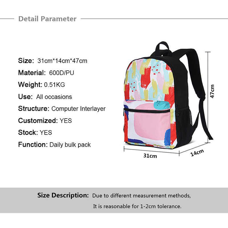 漫画 ARAGOTO 大通学かわいい子供学生ランドセルプリント Bagpack 小学校学生のラップトップ Bookbags 十代の少女